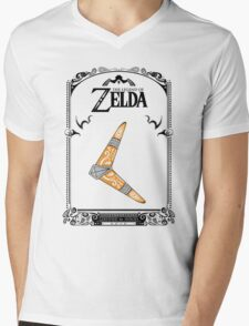 Zelda legend - Boomerang doodle Mens V-Neck T-Shirt