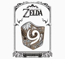 Zelda legend Kokiri shield Kids Clothes