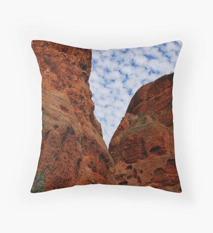 Day in the Outback Throw Pillow