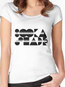 Booka Shade - Tribute to Walter Women's Fitted Scoop T-Shirt