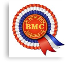 British Motor Corporation (BMC) Rosette Canvas Print