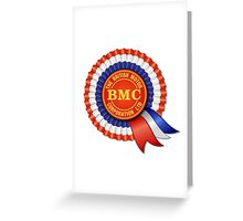 British Motor Corporation (BMC) Rosette Greeting Card