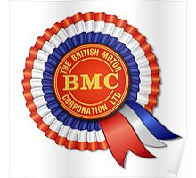 British Motor Corporation (BMC) Rosette Poster
