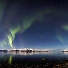 Panorama at Sortland strait by Frank Olsen