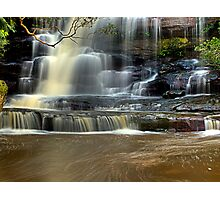 Muddy Waters - Somersby Falls, NSW Photographic Print