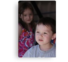 Zoe and Marcus Canvas Print