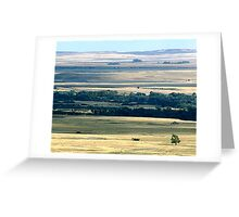 Faces of the Prairies Greeting Card