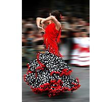 Spanish Dancer Photographic Print