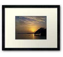 Kerala Sunset Framed Print