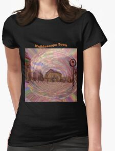 Kalidascope Town Womens Fitted T-Shirt