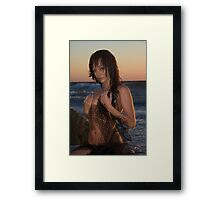 Sexy At Sunset Framed Print