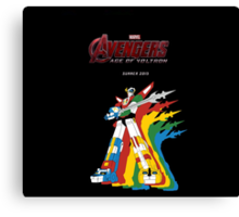 Avengers: Age of Voltron Canvas Print
