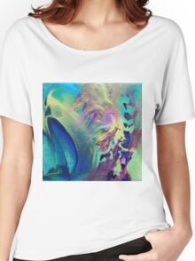 """""""Eclectic"""" original abstract artwork Women's Relaxed Fit T-Shirt"""