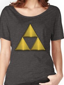 Triforce Tee (Large) Women's Relaxed Fit T-Shirt
