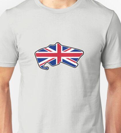 Silverstone Circuit - Pre 2010 Unisex T-Shirt