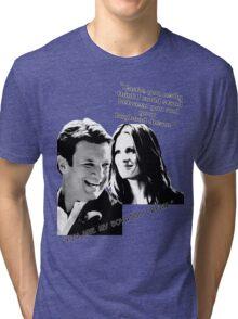 Boyhood Dream B/W Tri-blend T-Shirt