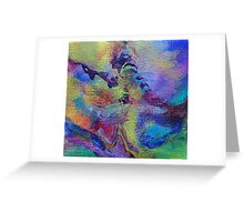 """Dreamscape No.4"" original abstract artwork Greeting Card"
