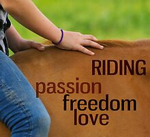 Riding is ... by Blende8