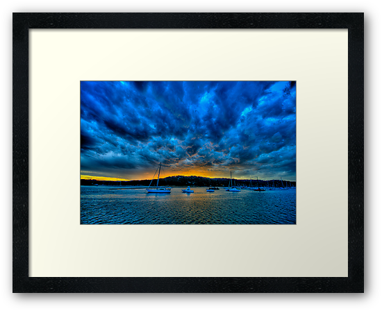 Blue Storm - Newport - The HDR Experience by Philip Johnson