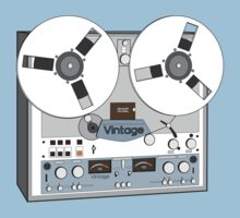 Reel Vintage Tape Deck T-Shirt