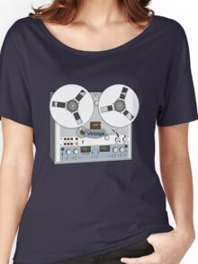 Reel Vintage Tape Deck Women's Relaxed Fit T-Shirt