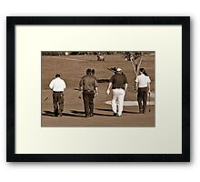 Parting Shots Framed Print