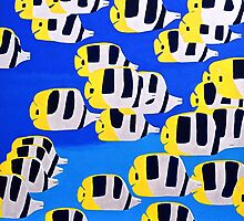 Butterfly Fish by sulaartist