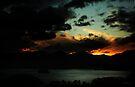 Sunset over Derwentwater by David Robinson