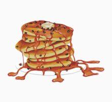 Ooey Gooey Chocolate Chip Pancakes by laurenramer