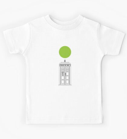 The Tardis Kids Tee