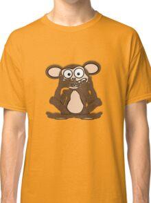 Silent Monkey Tee (fur) Classic T-Shirt