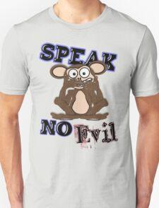 Speak No Evil Monkey Tee (fur) T-Shirt