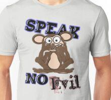 Speak No Evil Monkey Tee (fur) Unisex T-Shirt