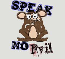 Speak No Evil Monkey Tee (fur) Unisex T-Shirt