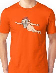 Rick & Morty - Giant Naked Sky Santa! Unisex T-Shirt