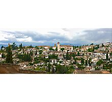 Albaicín desde Alhambra Photographic Print