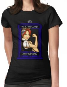 Amy Can! Womens Fitted T-Shirt