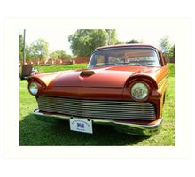 A Ford ~ when cars were more that a monthly payment.... Art Print