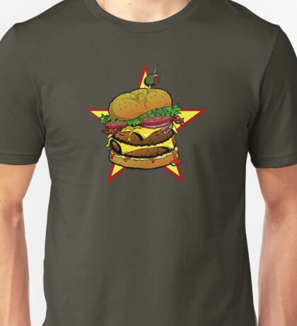 Cheeseburger Cheeseburger Cheeseburger Unisex T-Shirt