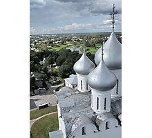 dome of St. Sophia Cathedral  Photographic Print