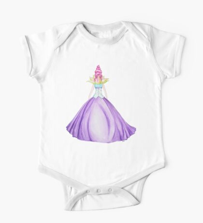 Waterlily, the princess One Piece - Short Sleeve