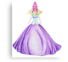 Waterlily, the princess Canvas Print