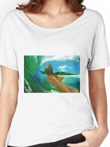Girl in the sea Women's Relaxed Fit T-Shirt