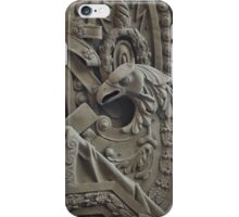 eagle military bas Relief iPhone Case/Skin
