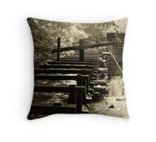Mingus Mill - Millrace Throw Pillow
