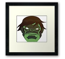 Hulk, The Incredible Avenger Framed Print