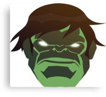 Hulk, The Incredible Avenger Canvas Print