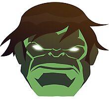Hulk, The Incredible Avenger Photographic Print