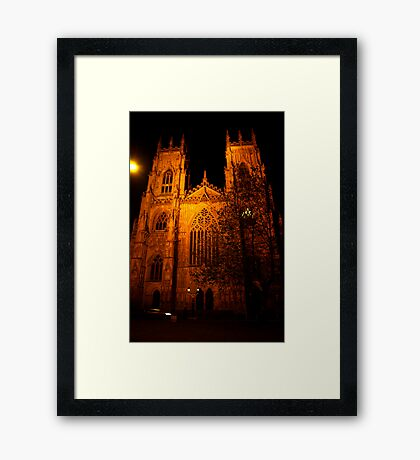 York Minster #3 Framed Print
