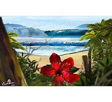 La Flor hawaiiana Photographic Print